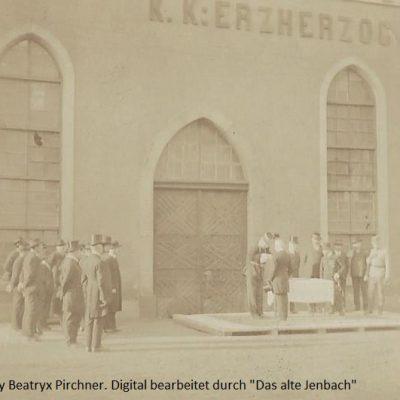 Auszeichnung Verdienter Männer, unter anderem Heinrich Pirchner im Jahre 1917.