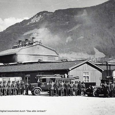 Betriebsfeuerwehrübung 1944.