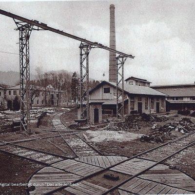 Drehkreuz im Hütten Werk.