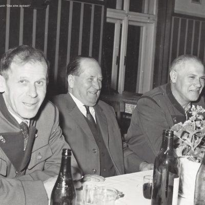 Jahreshauptversammlung der Werksfeuerwehr 1965.