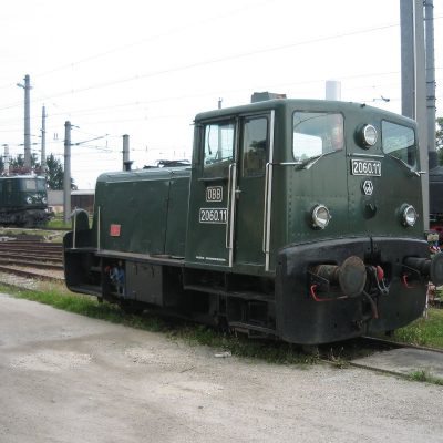 Hier sehen wir die zweiachsige Diesellokomotive der Reihe 2060 entwickelt in den Jenbacher Werken (JW)  © by Benny225