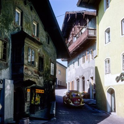Rammingerhaus und das Geschäft Vietur in den 70er Jahren.