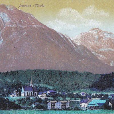 Jenbach um 1910.