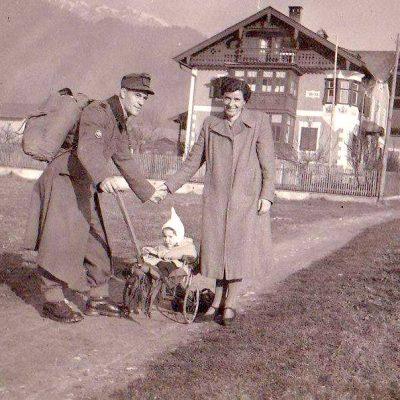 Schalserseitenweg, mit Blick nach Norden. Datiert 1942. Vielen Dank an Frau Eva-Maria Braun für das Foto.