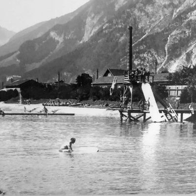 Das Strandbad im Jahr 1935.