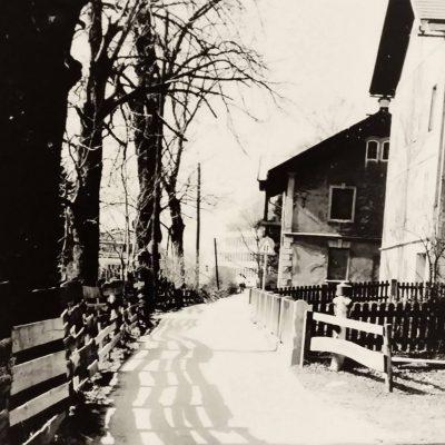Rotholzerweg in den 50er Jahren.