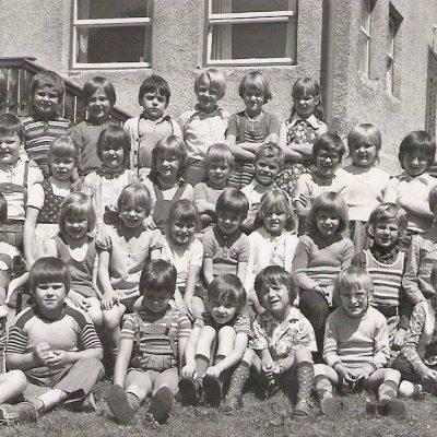 Gruppe Tante Grießenböck. Das Foto stammt aus dem 1973. Vielen Dank an Herrn Wolfgang Holzmann für das Bild.