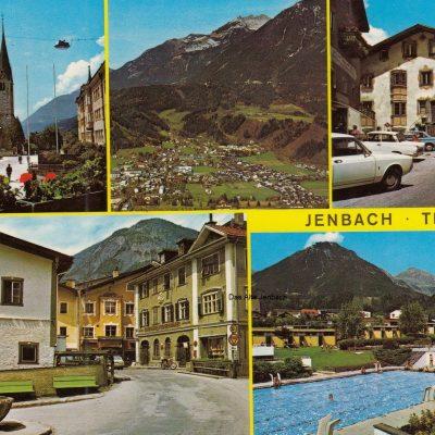 Jenbach in den 70er Jahren.