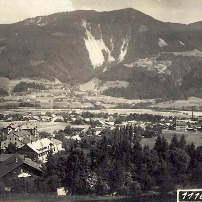 Wir schreiben das Jahr 1921. Der Inn ist auf diesem Foto noch unreguliert und eine Autobahn gibt es auch noch nicht.