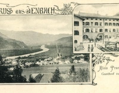 Postkarte vom Gasthof