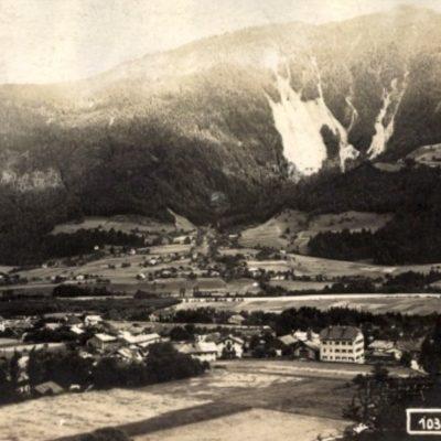 Blick auf Jenbach im Jahr 1922.