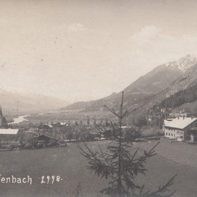 Ansicht auf Jenbach im Jahr 1923.