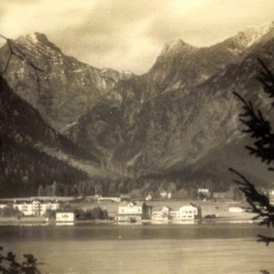 Pertisau am Achensse im Jahr 1925.