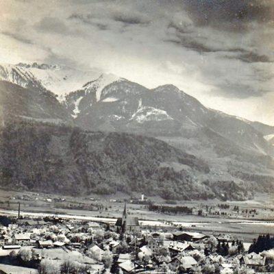 Ein seltenes Foto von Jenbach. Leider wissen wir nicht, wann genau es angefertigt worden ist.