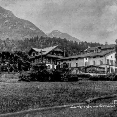 Der Gasthof Brauhaus im Jahr 1920.