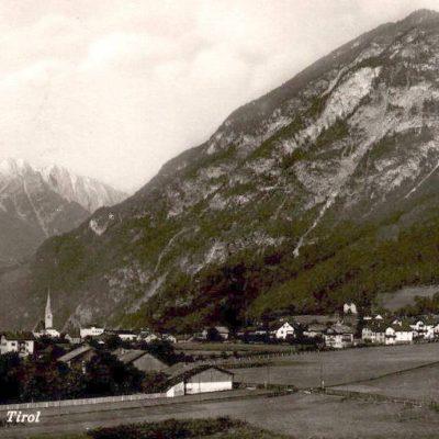 Ansicht auf Jenbach im Jahr 1940.