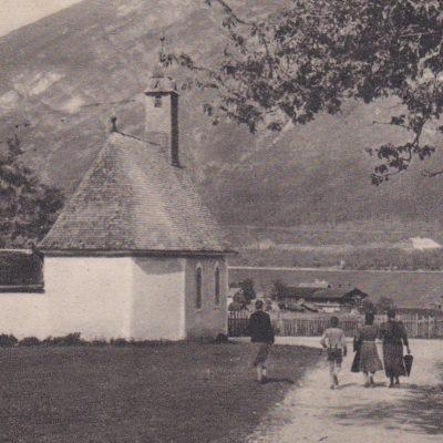 Blick in den Ort im Jahr 1944.