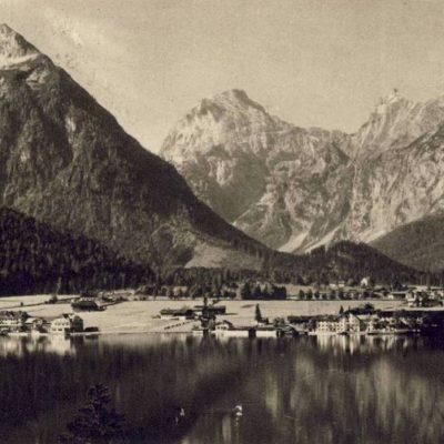 Pertisau am Achensee im Jahr 1948.