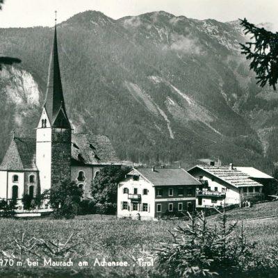 Eben am Achensee im Jahr 1950.