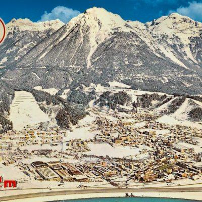 Bald wird der Schnee wieder zurück in Jenbach sein. Hier eine Aufnahme aus den 70er Jahren.