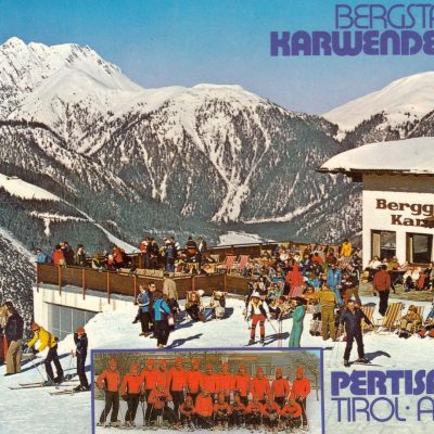 Die Bergstation Karwendellift (Pertisau)im Jahr 1983.