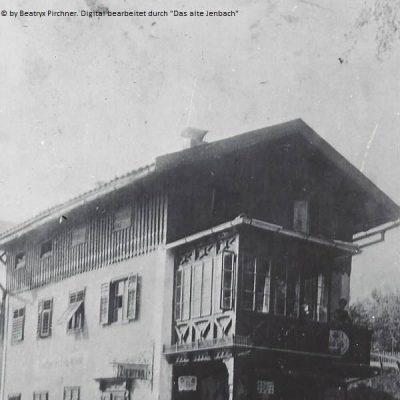 Das ehemalige Kaufhaus Fels, heute die HNO-Praxis in der Achenseestraße. Vielen Dank an Frau Beatryx Pirchner für das Foto.
