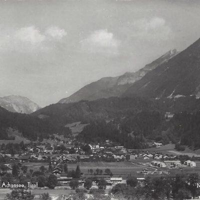 Jenbach im Jahr 1930 Die Hubersiedlung zum Beispiel existiert noch gar nicht.