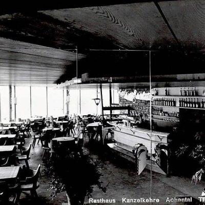 Innenraum aus dem Jahr 1955.