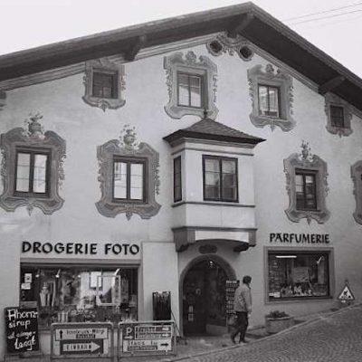 Das Rammingerhaus in den 70er Jahren.
