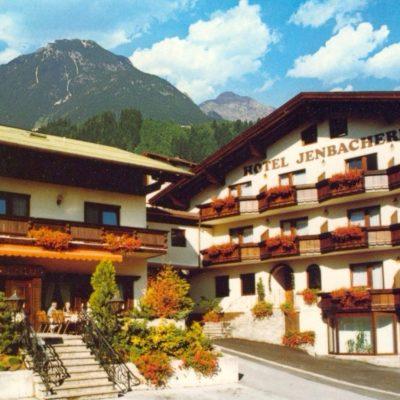 Der Jenbacherhof im Jahr 1990.
