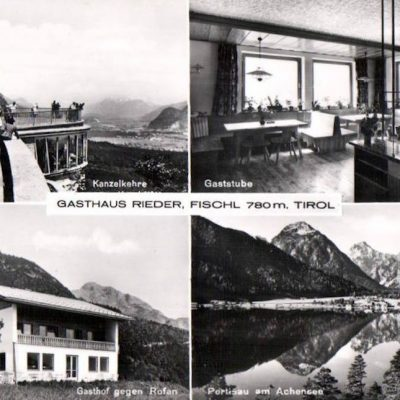 Postkarte aus dem Jahr 1955.
