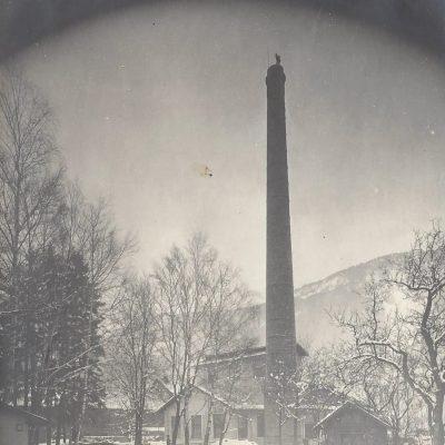 Presswerkkamin erbaut 1915 (umgelegt 1940)