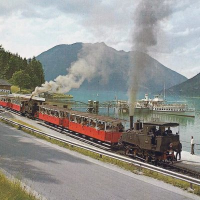 Die Achenseebahn im Jahr 1970.