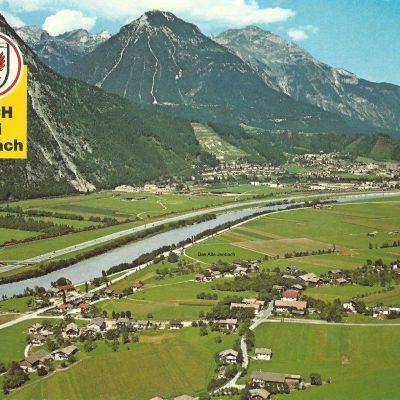 Blick von Buch bei Jenbach auf Jenbach im Jahr 1979.