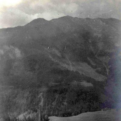 Eben am Achensee im Jahr 1924. Damals noch ein Bauerndorf ohne große Hotelanlagen.