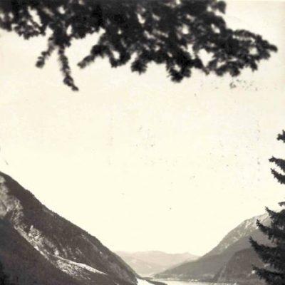 Das alte Pertisau rund um das Jahr 1940.