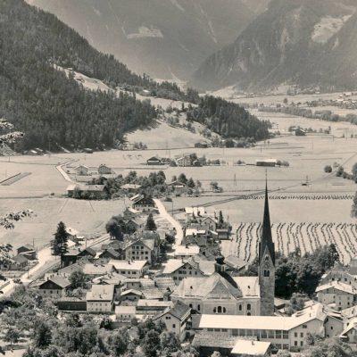 Zell im Zillertal in den 40er Jahren.