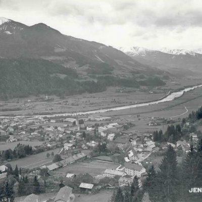 Ansicht auf Jenbach im Jar 1941.