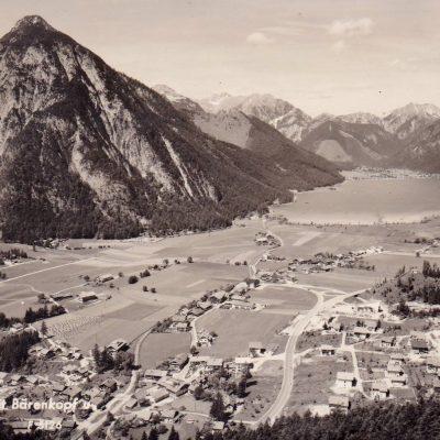 Das alte Maurach am Achensee im Jahr 1968.