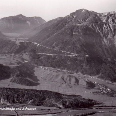 Blick auf die Kanzelkehre in den 50er Jahren.