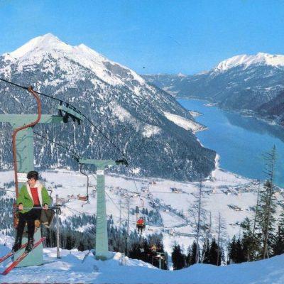 Der Karwendellift in den 80er Jahren.