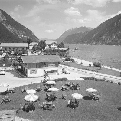 Die Achensee-Promenade im Jahr 1963.