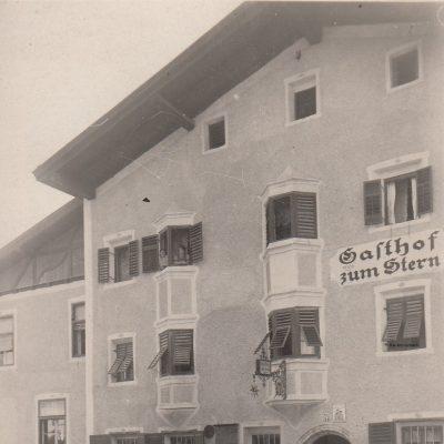 Gasthof zum Stern. Aufnahme vermutlich aus den 30er Jahren.