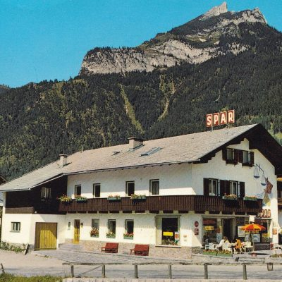 Pension/Spar - Kurt Klingler in Maurach im Jahr 1979.
