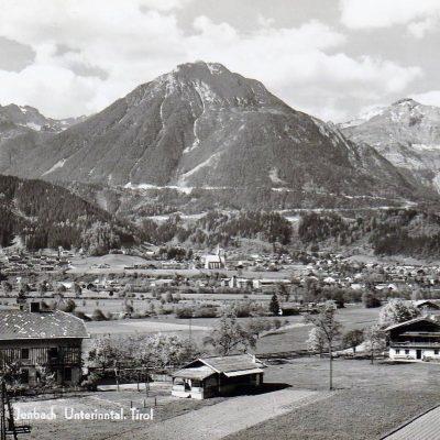 Ansicht auf Jenbach in den späten 50er Jahren.