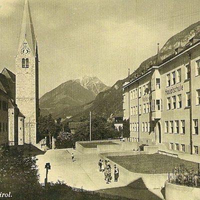 Volks und Hauptschule Jenbach im Jahr 1940