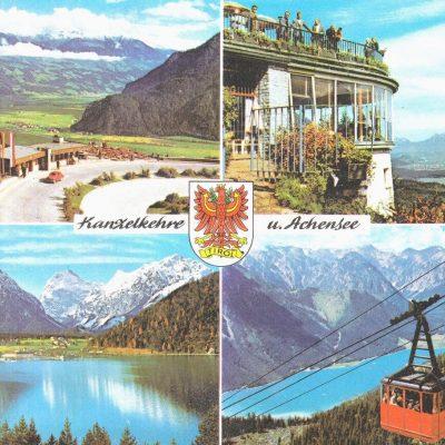 Postkarte aus den 70er Jahren.