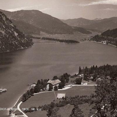 Hotel Achenseehof im Jahr 1956.