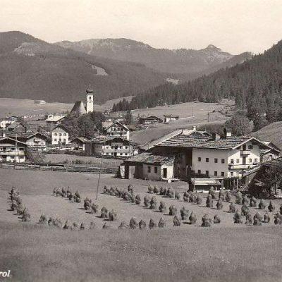 Achenkirch in den 40er Jahren.