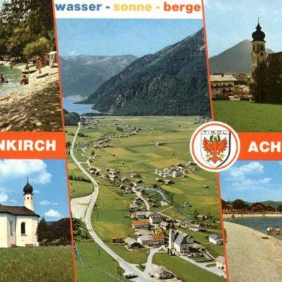 Werbung von Achenkirch in den 70er Jahren.